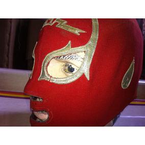 Mascara De Lucha Libre Profesional Antigua.