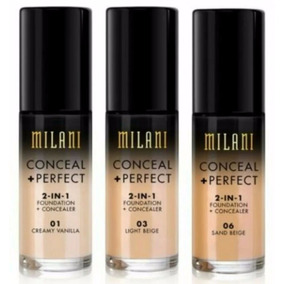 Base Milani Conceal Perfect 2 In 1 30ml - Base + Corretivo