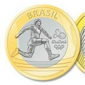 Moedas Olímpicas E Moeda Dos 50 Anos Do Banco Central