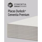 Placa Durlock Cementia Premium 10mm 1.20x2.40m Exterior