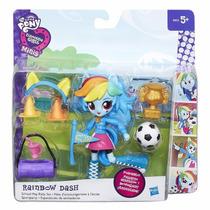Equestria Girls Mini My Little Pony Con 10 Accesorios Orig