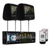 Dvd Pioneer Dvh-8880avbt Usb Bluetooth + Par Tela Encosto