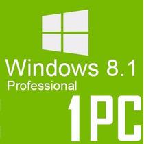 Windows 8.1 Pro Licencia Original 32/64 Bits