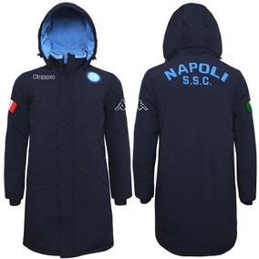 Camperon Parka Club Napoli Azul Originales Kappa Importados