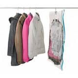 Saco Embalagem Vácuo Roupas Plástico Proteção 120x70x18cm