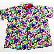 Camisa Temática Jovens Titãs Linda