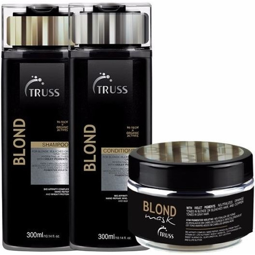 Truss Specific Blond Hair Shampoo + Condicionador + Máscara