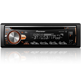 Cd Player Pioneer Deh-x50br Mixtrax Bluetooth Spotify + Top
