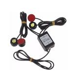 Kit Milha Strobo Controle Sem Fio 4 Pontos Drl Safety Car
