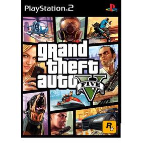 Gta 5 (v) Para Playstation 2 Ps2 Frete Apenas R$ 6,00!