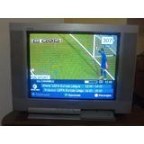 Televisor Sony Trinitron 21. Pantalla Plana
