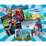 Invitaciones Digitales Cumpleaños Spiderman Hora De Aventura