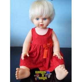 Boneca Bebê Fofa Da Estrela 65cm