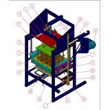 Planos Diseño Construye Maquina Ponedora Bloques 10,12 Y15cm
