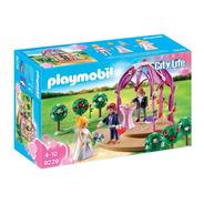 Playmobil 9229 Fiesta Boda Pabellon Nupcial De Novios Intek