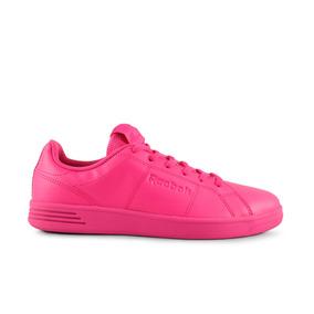Tenis Reebok Classic Leather - Rosa Bs7174