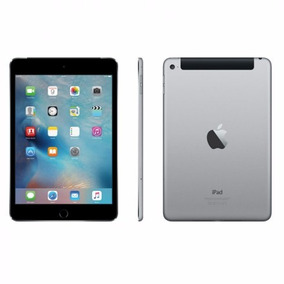 Celular Apple Ipad Mini 4 32gb Wifi Mnwe2cl/a Cinza