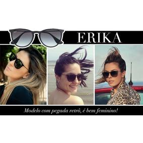 Óculos Ray Ban Erika Preto Fosco - Óculos De Sol no Mercado Livre Brasil bf0a0de42e