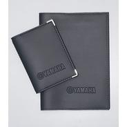 Kit Yamaha Moto Porta Manual E Porta Documentos