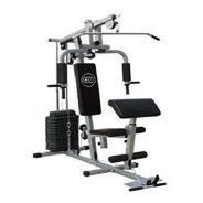 Estação De Musculação Aparelho Com 80kg Em Anilhas De Peso