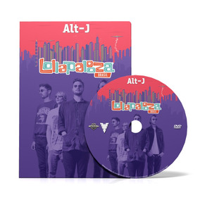Alt-j Dvd Lollapalooza Brasil 2015 Full Smashing Pum Nirvana