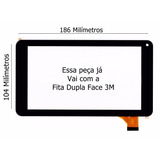 Tela Touch Tablet Phaser Kinno Pc 709ve Pc-709ve Pc709ve