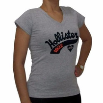Camiseta Feminina Hollister/ Blusinhas Hollister/ Kit C/ 05