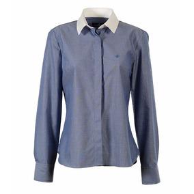 Camisa Brooksfield Mujer Moda Algodón Tramada Bm03082z