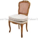 Cadeira Luiz Xv Entalhes Feito A Mão Alta Decoração Classico