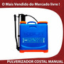 Pulverizador Costal Bomba Veneno Capim Mato Mangueira Manual