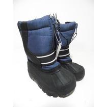 Botas Nieve Frio Agua Niño Thinsulate 5 Usa 11cm G789