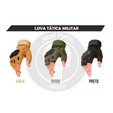 Kit 5 Pares Luva Tática Oakley Airsoft Paintball Militar