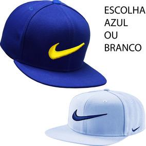 d6855bbb05bb2 Bone Aba Reta Nike Snapback Original - Bonés para Masculino no ...