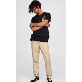 Pantalon Pull And Bear (talla 34) Slim 100% Original Y Nuevo