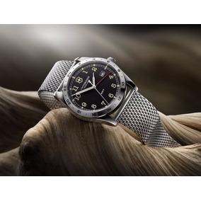 Relógio Victorinox Swiss Army Infantry Gmt Mesh 241649