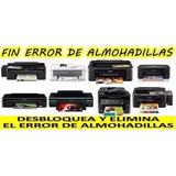Reset De Almoadillas Epson T22 T22 L110 L210 L300 L350 L355
