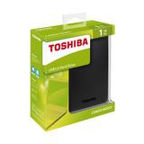 Disco Duro Externo Toshiba 1tb Canvio Basic Tamaño 2,5