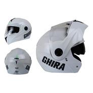 Casco Abatible Ghira Gh1000 Con Gafas Certificado Dot Moto