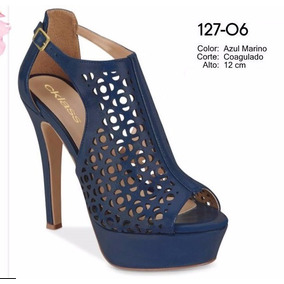 Zapatos Cklass Pumps Azul Marino Primavera Verano 2017