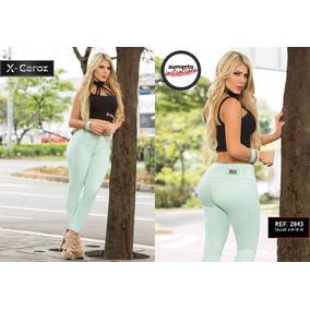 Pantalones Jean De Dama Colombianos Levanta Cola Efecto Faja