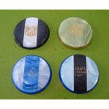 (rm) Lote 10 - 4 Botões C/escudos