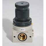 Micro Regulador De Pressao 0-12 Bar Bit 1/4 Metalwork
