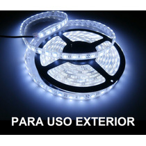 Tira Rollo Led 5m Exteriores Ip65 Impermeable Foco 3528