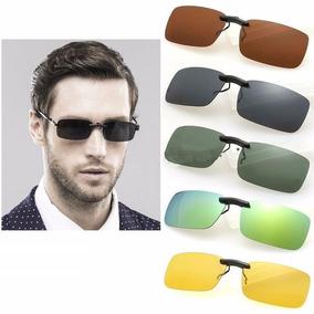 6267e747118c6 Óculos Clip On Proteção Uv400 E Polarização - Cores Diversas