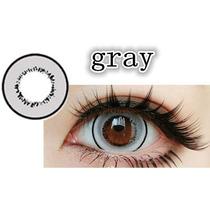 Lente De Contato Cinza Donut Circle Lens Olhos De Boneca