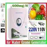 Gerador Ozônio 600mg/h Ozonizador Água,ar 110e220v-fr.grátis