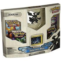 Tarjeta Del Blanco De Pokemon Negro Juego Zekrom Box 4 Boos