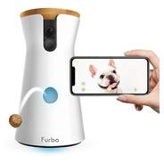 Camara Para Perros Wifi 1080p Nocturna Lanza Comida Altavoz