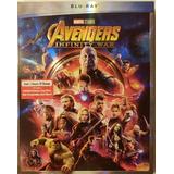 Blu Ray Avengers Infinity War Marvel Dc Original