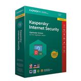 Kaspersky Internet Security 3 Pc 1año 2018